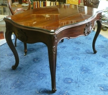 TABLE BUREAU ACAJOU EPOQUE NAPOLEON III